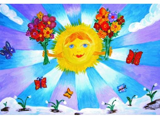 Картинки о весне в 1 классе