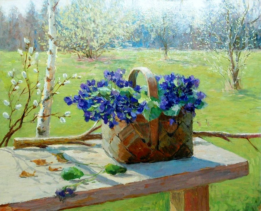 Картинки в карандаше о ранней весне